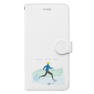 RUN RUN RUN Book-style smartphone case