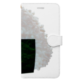 おにぎり2020 Book-style smartphone case