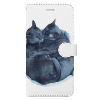 ちまきの幸せの塊 Book-style smartphone case