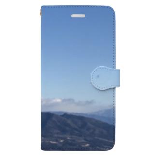 山々 Book-style smartphone case