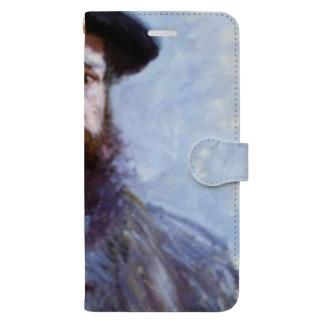 Art Baseのクロード・モネ / 1886 / Self-Portrait with a Beret / Claude Monet Book-style smartphone case