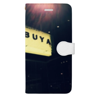 SHIBUYA traditional  Book-style smartphone case
