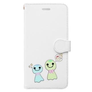 てるてるさん パート2  Book-style smartphone case