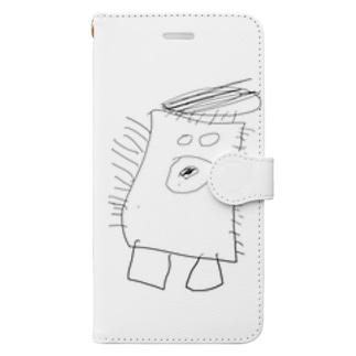 ファザーモンスター Book-style smartphone case