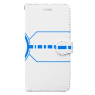 シルエット(かっこいい) Book-style smartphone case