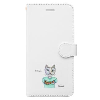アイ・ライク・ユー Book-style smartphone case