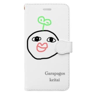 豆大福ちゃんスマホケース  Book-style smartphone case