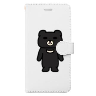 くま吉さんのグッズ Book-style smartphone case