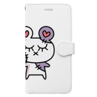 ぞんピ アイテム Book-style smartphone case