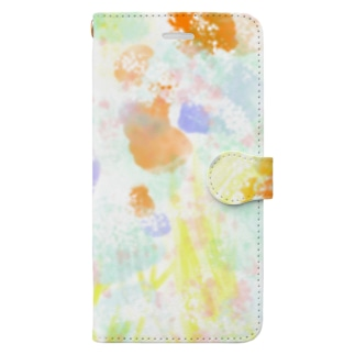 SPRANG FLOWERS Book-style smartphone case