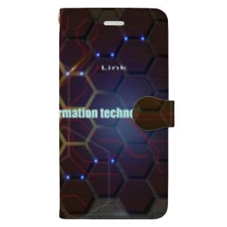 デジタルイラスト Book-style smartphone case