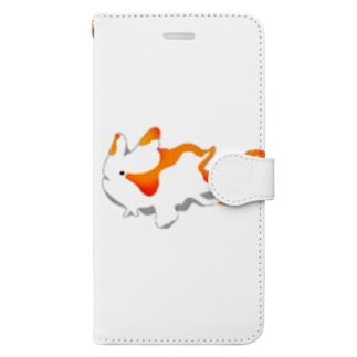 カエルアンコウ Book-style smartphone case