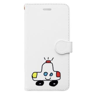 ぽりすめん Book-style smartphone case