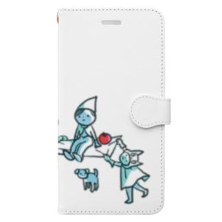 みんなであそぶとたのしいよ。 Book-style smartphone case