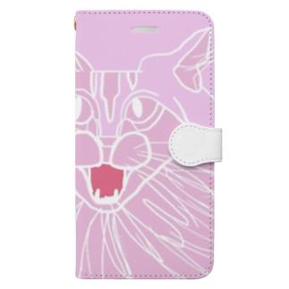 catクロ Book-style smartphone case