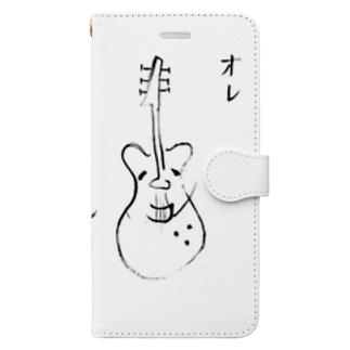 オレ ロックンローラー Book-style smartphone case