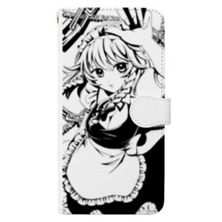 咲夜さん Book-style smartphone case