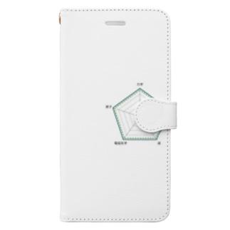 7時 Book-style smartphone case