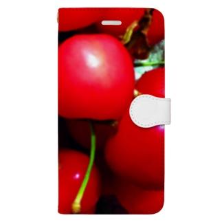 佐藤錦 Book-style smartphone case