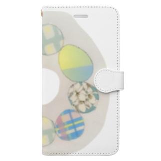 masute ゆめのたまご Book-style smartphone case