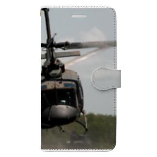 UH1Jくん Book-style smartphone case