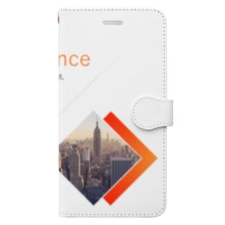 英字ヴァージョン2 Book-style smartphone case