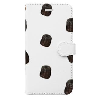カヌレいっぱい Book-Style Smartphone Case