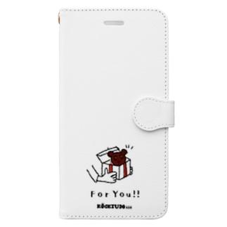 パンダどら焼き  Book-style smartphone case