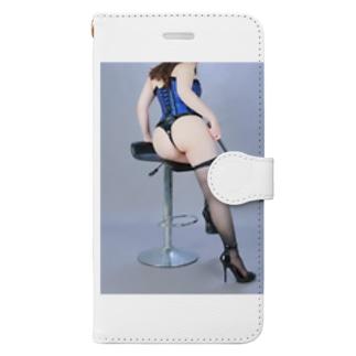 怜香様バックスタイル Book-style smartphone case