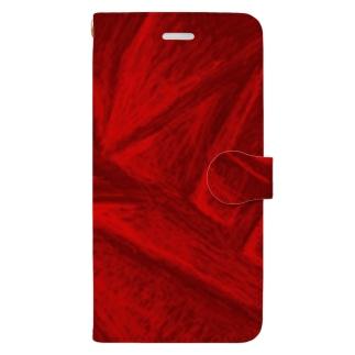 Red-Crash Book-style smartphone case