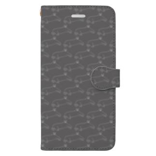 ムッチリキナングレー Book-style smartphone case