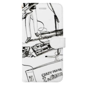 CRAZYMAMA 2ndRoom Book-style smartphone case