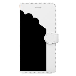 ハードボイルなニワトリ Book-style smartphone case