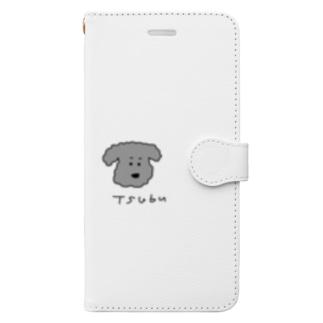トイプーつぶら Book-style smartphone case