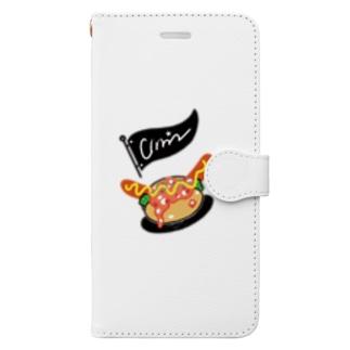 チリドック Book-style smartphone case