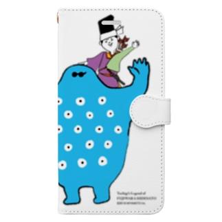 秀郷&どうめき/かたぐるま Book-style smartphone case