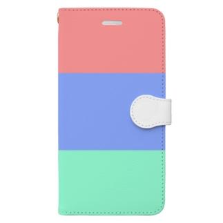 赤青緑 Book-style smartphone case