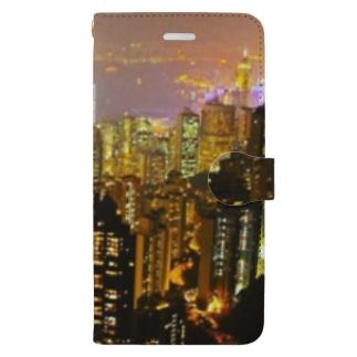 夜景10 Book-style smartphone case