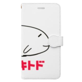 ヤマザキトド Book-style smartphone case