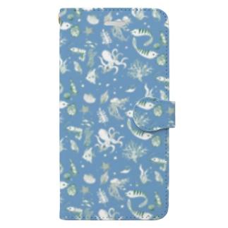 海洋生物 Book-style smartphone case