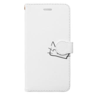 ちやんねこ Book-style smartphone case