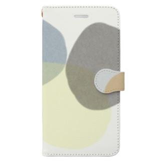 いびつまる02 Book-style smartphone case