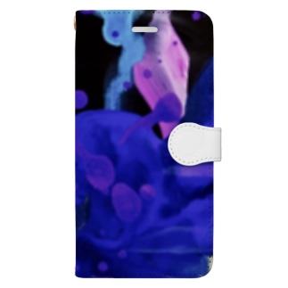 群像.花 Book-style smartphone case