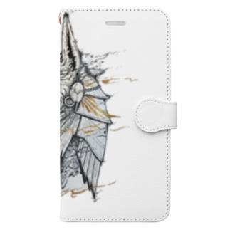 アヌビス Book-style smartphone case