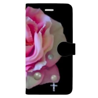 Rosenkreuzer PINKmarble bg Book-style smartphone case