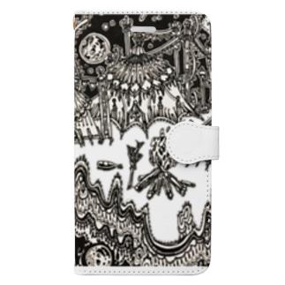 キャンプファイア Book-style smartphone case