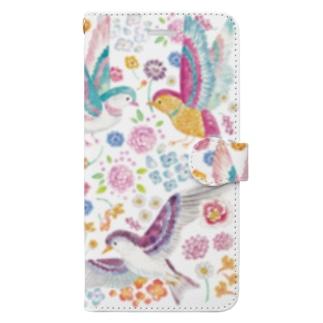 花鳥 Book-style smartphone case