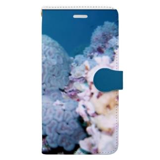 珊瑚 Book-style smartphone case
