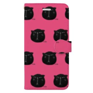 黒にゃんこ🎶 Book-style smartphone case