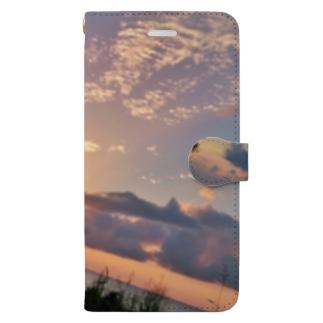 黄昏mode Book-style smartphone case